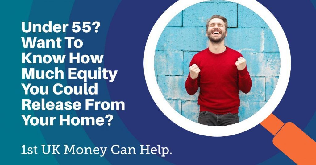 release equity from property under 55